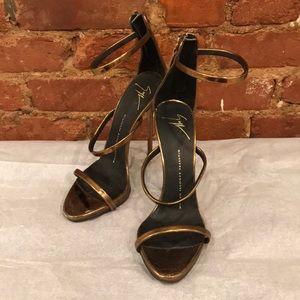 Giuseppe Zanotti Harmony metallic sandals